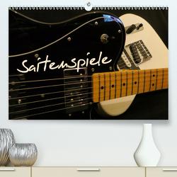 SAITENSPIELE (Premium, hochwertiger DIN A2 Wandkalender 2020, Kunstdruck in Hochglanz) von Bleicher,  Renate