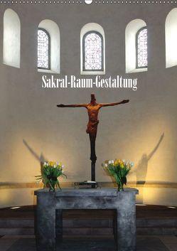 Sakral-Raum-Gestaltung – Die Kirchen von Hildesheim (Wandkalender 2019 DIN A2 hoch) von Niemsch,  Gerhard