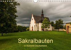 Sakralbauten in Südwest-Deutschland (Wandkalender 2019 DIN A4 quer) von Hess,  Erhard, www.ehess.de