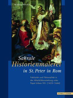 Sakrale Historienmalerei in St. Peter in Rom von Windorf,  Wiebke