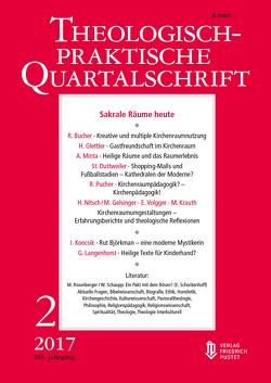 Sakrale Räume heute von Die Professoren und Professorinnen der Fakultät für Theologie der Kath. Privat-Universität Linz