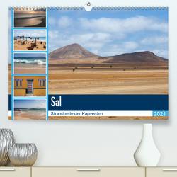 Sal – Strandperle der Kapverden (Premium, hochwertiger DIN A2 Wandkalender 2021, Kunstdruck in Hochglanz) von Reuke,  Sabine