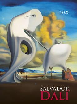 Salvador Dali 2020 – Bildkalender (42 x 56) – Kunstkalender – Wandkalender – Malerei von ALPHA EDITION