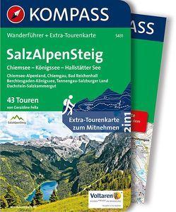 SalzAlpenSteig, Chiemsee, Königssee, Hallstätter See von Fella,  Geraldine