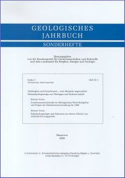 Salzbergbau und Grundwasser – zwei Beispiele angewandter Montanhydrogeologie aus Thüringen und Sachsen-Anhalt von Käbel,  Herbert