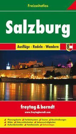 Salzburg, Freizeitatlas 1:50.000 – 1:200.000 von Freytag-Berndt und Artaria KG