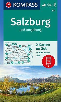 Salzburg und Umgebung von KOMPASS-Karten GmbH