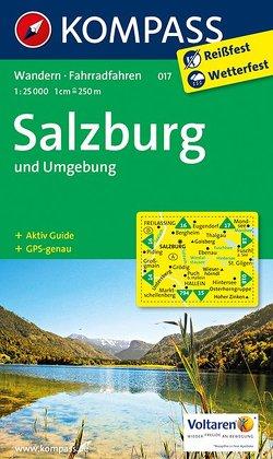 KOMPASS Wanderkarte Salzburg und Umgebung von KOMPASS-Karten GmbH