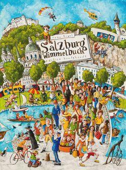 Salzburg Wimmelbuch von Engel,  Peter