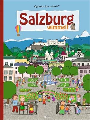 Salzburg wimmelt von Heras-Gehart,  Gabrielle