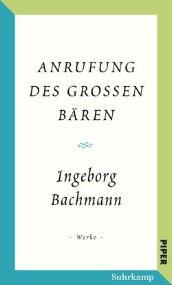 Salzburger Bachmann Edition von Bachmann,  Ingeborg, Reitani,  Luigi
