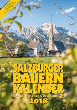 Salzburger Bauernkalender 2018 von Steiner,  Gertraud
