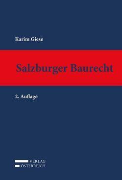 Salzburger Baurecht von Giese,  Karim