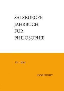 Salzburger Jahrbuch für Philosophie von Bauer,  Emmanuel J., Darge,  Rolf, Schmidinger,  Heinrich