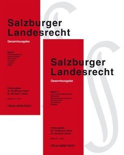 Salzburger Landesrecht 2017 von Faber,  Ferdinand, Leitner,  Barbara