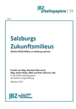 Salzburgs Zukunftsmilieus von Oberrauch,  Marietta, Wally,  Stefan, Wimmer,  Peter