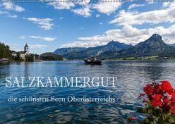 Salzkammergut – Die schönsten Seen Oberösterreichs (Wandkalender 2019 DIN A2 quer) von Pfleger,  Hans