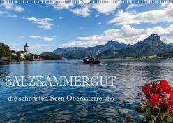 Salzkammergut – Die schönsten Seen Oberösterreichs (Wandkalender 2019 DIN A3 quer) von Pfleger,  Hans