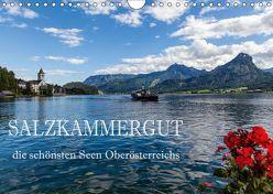 Salzkammergut – Die schönsten Seen Oberösterreichs (Wandkalender 2019 DIN A4 quer) von Pfleger,  Hans