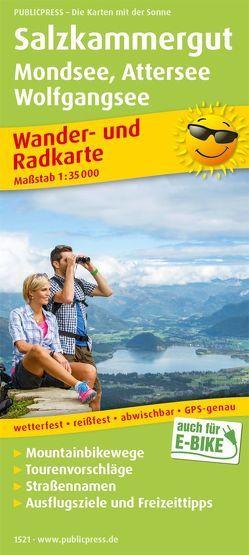Salzkammergut, Mondsee – Attersee, Wolfgangsee