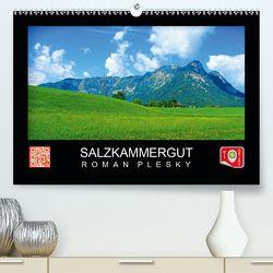 Salzkammergut (Premium, hochwertiger DIN A2 Wandkalender 2020, Kunstdruck in Hochglanz) von Plesky,  Roman