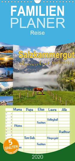 Salzkammergut, überraschend vielseitig – Familienplaner hoch (Wandkalender 2020 , 21 cm x 45 cm, hoch) von Roder,  Peter
