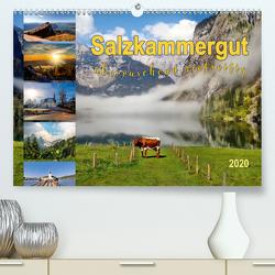 Salzkammergut, überraschend vielseitig (Premium, hochwertiger DIN A2 Wandkalender 2020, Kunstdruck in Hochglanz) von Roder,  Peter