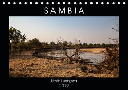 """Sambia """"Das wirkliche Afrika"""" (Tischkalender 2019 DIN A5 quer) von Quentin,  Udo"""