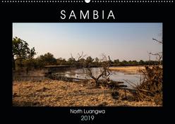 """Sambia """"Das wirkliche Afrika"""" (Wandkalender 2019 DIN A2 quer) von Quentin,  Udo"""