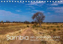 Sambia – ein großartiges Land (Tischkalender 2018 DIN A5 quer) von rsiemer,  k.A.
