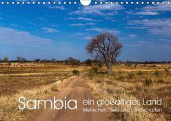 Sambia – ein großartiges Land (Wandkalender 2019 DIN A4 quer)