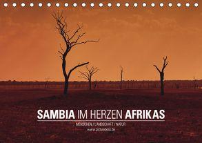 SAMBIA IM HERZEN AFRIKAS (Tischkalender 2018 DIN A5 quer) von Esch,  Jens