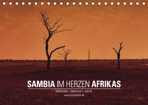 SAMBIA IM HERZEN AFRIKAS (Tischkalender 2019 DIN A5 quer)