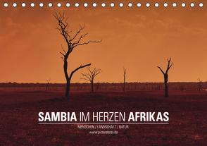 SAMBIA IM HERZEN AFRIKAS (Tischkalender 2021 DIN A5 quer) von Esch,  Jens