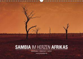 SAMBIA IM HERZEN AFRIKAS (Wandkalender 2018 DIN A3 quer) von Esch,  Jens