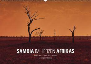 SAMBIA IM HERZEN AFRIKAS (Wandkalender 2019 DIN A2 quer)