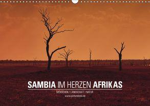 SAMBIA IM HERZEN AFRIKAS (Wandkalender 2019 DIN A3 quer) von Esch,  Jens