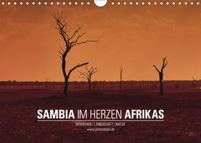 SAMBIA IM HERZEN AFRIKAS (Wandkalender 2019 DIN A4 quer) von Esch,  Jens