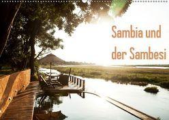 Sambia und der Sambesi (Wandkalender 2019 DIN A2 quer) von slusarcik photography (dsp),  daniel