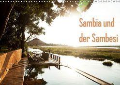 Sambia und der Sambesi (Wandkalender 2019 DIN A3 quer) von slusarcik photography (dsp),  daniel