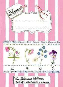 Samentütchen Blumen von Rohringer,  Reglindis