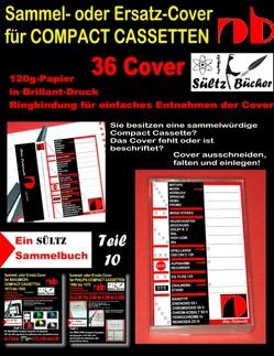 Sammel- oder Ersatz-Cover für Compact Cassetten von Sültz,  Uwe H.