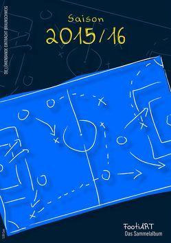 Sammelalbum 2015/16 Eintracht Braunschweig