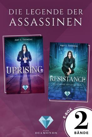 Sammelband der Fantasy-Serie »Die Legende der Assassinen« Band 1-2 (Die Legende der Assassinen ) von Thyndal,  Amy Erin