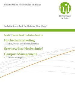 Sammelband Hochschul-Services von Krahn,  Britta, Rietz,  Christian