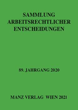 Sammlung arbeitsrechtlicher Entscheidungen von Weiss,  Dieter