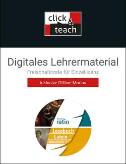 Sammlung ratio / Lesebuch Latein – click & teach Mittelstufe 2 Box von Lobe,  Michael