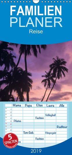 Samoa und Fidschi – Familienplaner hoch (Wandkalender 2019 , 21 cm x 45 cm, hoch) von Dr. Günter Zöhrer,  ©