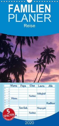 Samoa und Fidschi – Familienplaner hoch (Wandkalender 2020 , 21 cm x 45 cm, hoch) von Dr. Günter Zöhrer,  ©