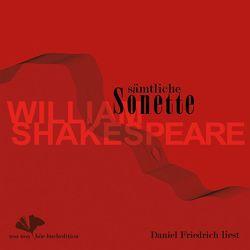 Sämtliche Sonette von William Shakespeare von Friedrich,  Daniel, Koester,  Jan